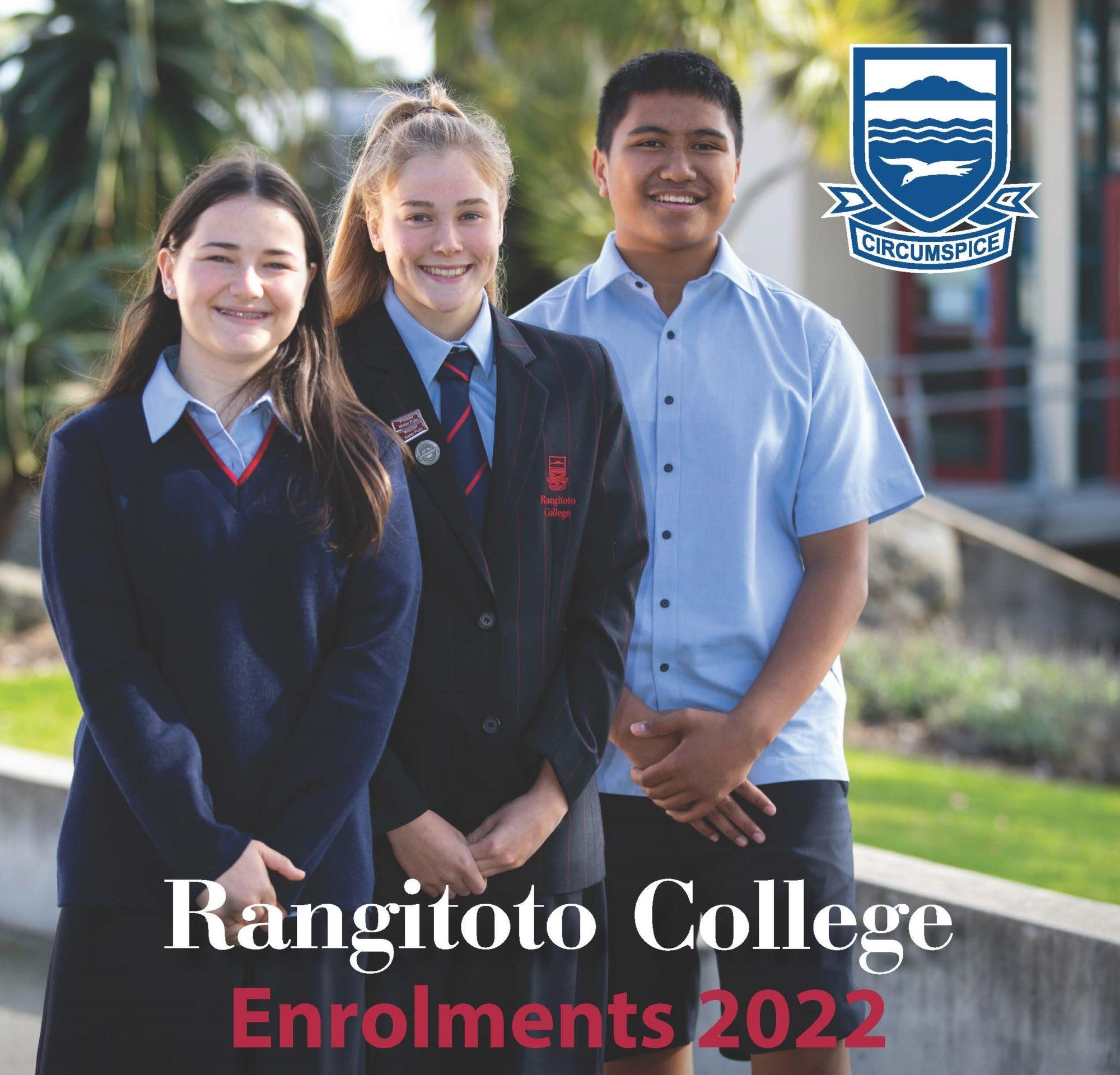 Rangitoto College Info